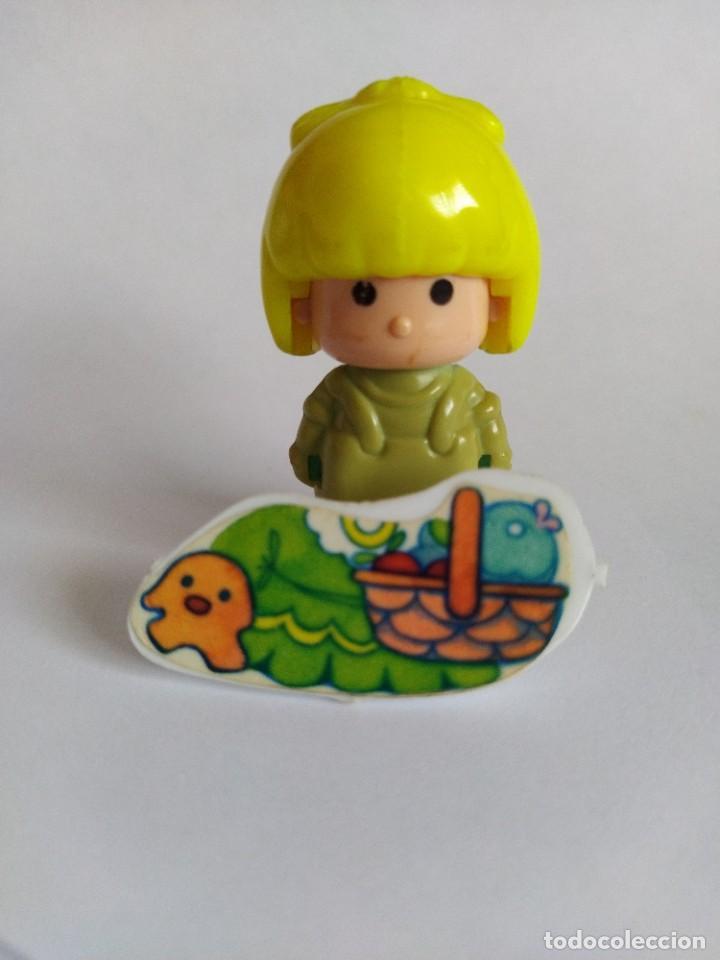 Otras Muñecas de Famosa: Pinypon muñeca con accesorio de ropa con cesta y muñecos. PinyPon antiguo vintage de los 80 Famosa - Foto 7 - 205599810