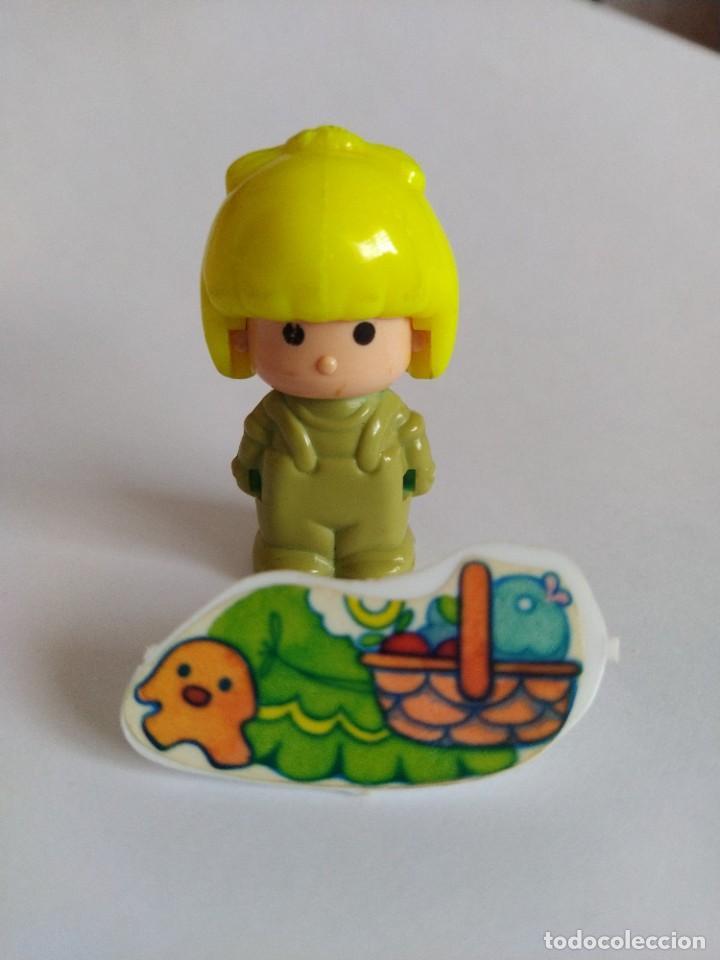 Otras Muñecas de Famosa: Pinypon muñeca con accesorio de ropa con cesta y muñecos. PinyPon antiguo vintage de los 80 Famosa - Foto 9 - 205599810