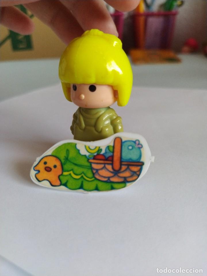Otras Muñecas de Famosa: Pinypon muñeca con accesorio de ropa con cesta y muñecos. PinyPon antiguo vintage de los 80 Famosa - Foto 13 - 205599810