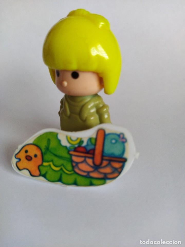 Otras Muñecas de Famosa: Pinypon muñeca con accesorio de ropa con cesta y muñecos. PinyPon antiguo vintage de los 80 Famosa - Foto 14 - 205599810