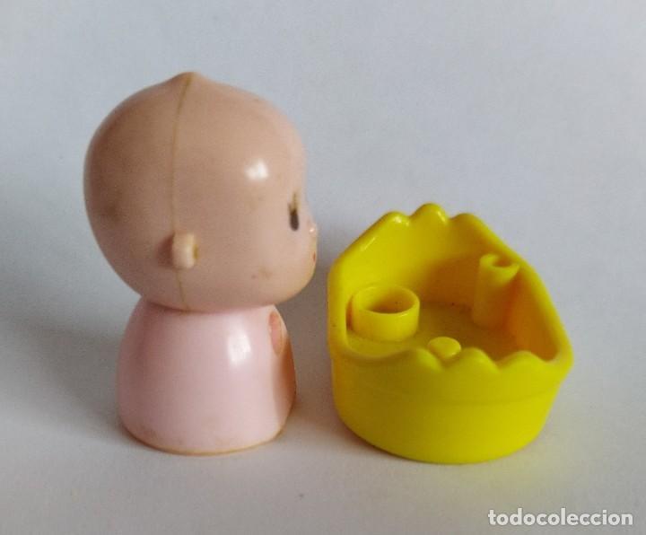 Otras Muñecas de Famosa: Pinypon muñeco bebé con cesta. PinyPon antiguo vintage de los 80 Famosa - Foto 4 - 205600930