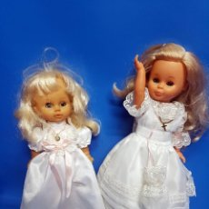 Otras Muñecas de Famosa: DOS MUÑECAS COMUNION, UNA FAMOSA COLECCIÓN COMUNIÓN-39 CM. Lote 206191096