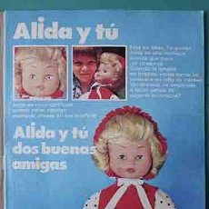 Otras Muñecas de Famosa: ANUNCIO MUÑECAS FAMOSA , PULGARCITO Nº 2214 SHERIFF KING. Lote 206354685