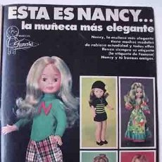 Otras Muñecas de Famosa: ANUNCIO MUÑECAS FAMOSA , PULGARCITO Nº 2274 SHERIFF KING. Lote 206354906