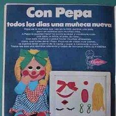 Otras Muñecas de Famosa: ANUNCIO MUÑECAS FAMOSA , PULGARCITO Nº 2323 SHERIFF KING. Lote 206355731