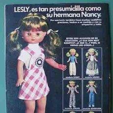 Otras Muñecas de Famosa: ANUNCIO MUÑECAS FAMOSA , PULGARCITO Nº 2327 SHERIFF KING. Lote 206355890