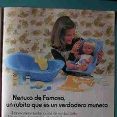 Otras Muñecas de Famosa: ANUNCIO MUÑECAS FAMOSA , PULGARCITO Nº 2483 SHERIFF KING. Lote 206356337