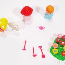 Otras Muñecas de Famosa: PINYPON REF 2216 JARDINEROS - PIN Y PON. Lote 206533936