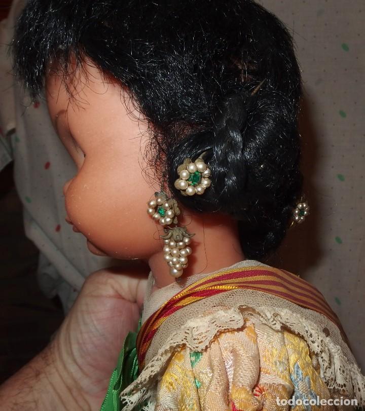 Otras Muñecas de Famosa: TRAJE DE VALENCIANA FALLERA DE GRACIELA DE FAMOSA DE 50 CMS DE ALTURA,AÑOS 60 - Foto 4 - 206869875