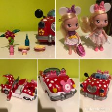 Otras Muñecas de Famosa: COCHE PICNIC Y MUÑECAS I LOVE MINNIE FAMOSA. Lote 207034872