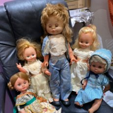 Otras Muñecas de Famosa: LOTE DE 5 MUÑECAS ANTIGUAS- VER FOTOS. Lote 207293632