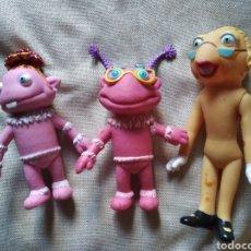 Otras Muñecas de Famosa: LOTE 3 MUÑECOS FAMOSA JUGUETES GOMA ALTURA 19 CM. Lote 207982000