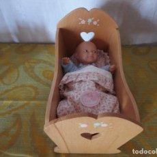 Otras Muñecas de Famosa: CUNA Y MUÑECA LA NINA DE FAMOSA-TOYLAND SA. Lote 208029630