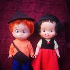 Otras Muñecas de Famosa: HEIDI Y PEDRO MUÑECA FAMOSA, PAREJA DE MUÑECOS. Lote 222605275