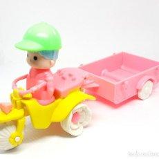 Otras Muñecas de Famosa: PIN Y PON PINYPON MOTO TRICICLO REF 2220. Lote 211387390