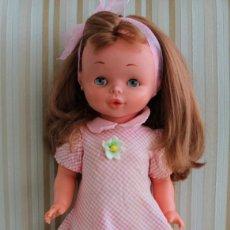 Outras Bonecas da Famosa: RESERVADA MUÑECA MARGOT PELIRROJA DE FAMOSA, 1974, OJOS MARGARITA, PELO IMPLANTADO, 43CM - DOLL,. Lote 211408139