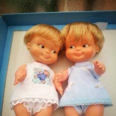 Otras Muñecas de Famosa: BALIN Y BALITA MUÑECA ANTIGUA DE FAMOSA-BEBES /BARRIGUITA. Lote 213918212