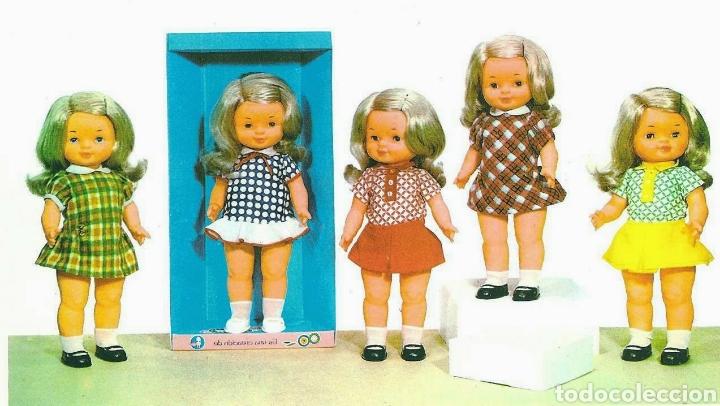 Otras Muñecas de Famosa: DIFICIL MUÑECA MEGY MEGGY DE FAMOSA 1971 SIMILAR A CONCHI Y CAROL - Foto 9 - 214102978
