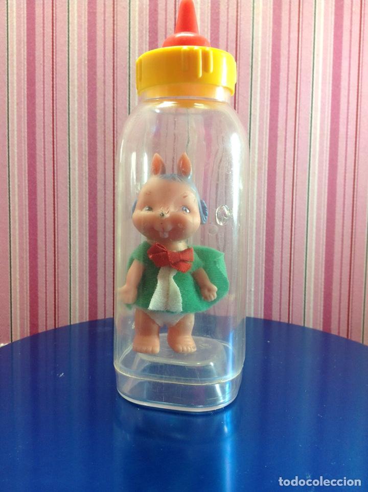 MUÑECO BABY BIBERÓN MINI- ZOO DE FAMOSA. (Juguetes - Muñeca Española Moderna - Otras Muñecas de Famosa)