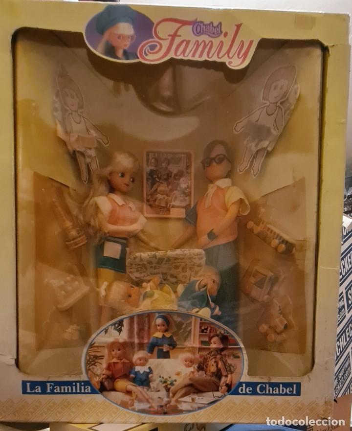 CHABEL FAMILY -CAJA Y CONTENIDO ORIGINAL- (Juguetes - Muñeca Española Moderna - Otras Muñecas de Famosa)