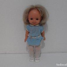 Otras Muñecas de Famosa: MUÑECA FAMOSA PEQUE PARLANCHINA, OJOS AZULES MARGARITA, MATTEL 1967 MEXICO. Lote 214700366