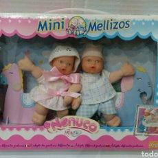 Otras Muñecas de Famosa: MINI MELLIZOS. NENUCO. FAMOSA. NUEVO EN CAJA. SIN ESTRENAR. REF 82525. 2001. ADOPTA VARIAS POSTURAS.. Lote 217047713