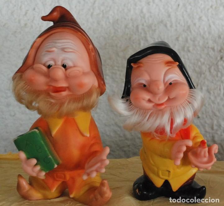 Otras Muñecas de Famosa: LOTE 4 ENANITOS BLANCANIEVES FAMOSA FERRARIO GOMA - TAMBIEN SUELTOS - Foto 5 - 218735297
