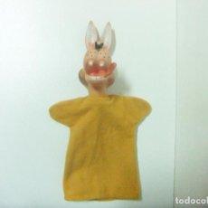 Otras Muñecas de Famosa: LOBO FEROZ MUÑECO GUIÑOL FAMOSA MADE IN SPAIN - MARIONETA TÍTERE CUENTO INFANTIL LOS 3 CERDITOS. Lote 218966705