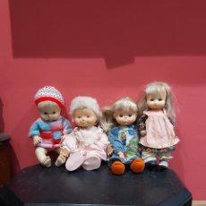 Otras Muñecas de Famosa: LOTE DE 4 MUÑECAS FAMOSAS ANTIGUAS. Lote 221746131