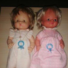 Otras Muñecas de Famosa: PAREJA DE ANTIGUAS MUÑECA NENUCO DE FAMOSA. Lote 223768022