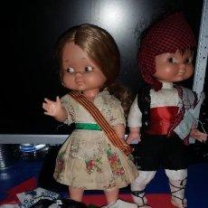 Otras Muñecas de Famosa: LOTE RAPACIÑA Y RAPACIÑO + LOTE ROPA. Lote 224737583
