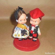 Otras Muñecas de Famosa: PAREJA MUÑECOS TIN TAN DE FAMOSA - REGIONALES CATALANES PAYESES - AÑOS 60 - TINTÁN - CATALUÑA. Lote 226831920