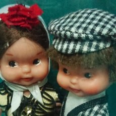 Otras Muñecas de Famosa: MUÑECAS TIN TAN DE FAMOSA CHULAPOS MADRILEÑOS - EN SU CAJA ORIGINAL. Lote 228391715