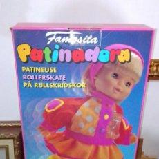 Otras Muñecas de Famosa: PRECIOSA MUÑECA PATINADORA DE FAMOSITA. NUEVA.. Lote 231438145