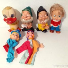 Otras Muñecas de Famosa: LOTE DE MUÑECOS GOMA JUGASA FAMOSA ENANITO. Lote 233607650