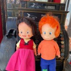 Otras Muñecas de Famosa: HEIDI Y PEDRO MUÑECOS DE FAMOSA. Lote 234381535