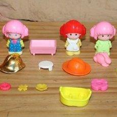 Otras Muñecas de Famosa: PIN Y PON - LOTE DESPIECE: ALGODON, BOMBEROS, GRANJA, COCHECITO.... Lote 235714880