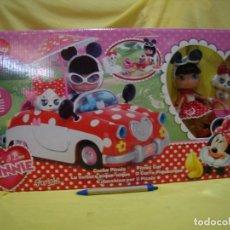 Otras Muñecas de Famosa: Y LOVE MINNIE, COCHE PICNIC DE FAMOSA, AÑO 2011, NUEVA SIN ABRIR.. Lote 237064775