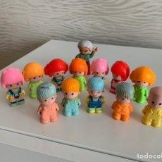 Otras Muñecas de Famosa: PIN Y PON. LOTE 13 MUÑECOS. AÑOS 80. Lote 238003675