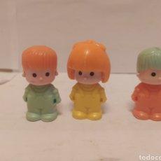 Otras Muñecas de Famosa: 3 PIN Y PON FIGURAS AÑOS 80. Lote 238251875