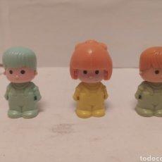 Otras Muñecas de Famosa: 3 PIN Y PON FIGURAS AÑOS 80. Lote 238252345