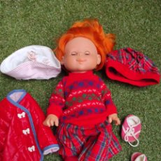 Otras Muñecas de Famosa: MUÑECA PELIRROJA. Lote 242454550