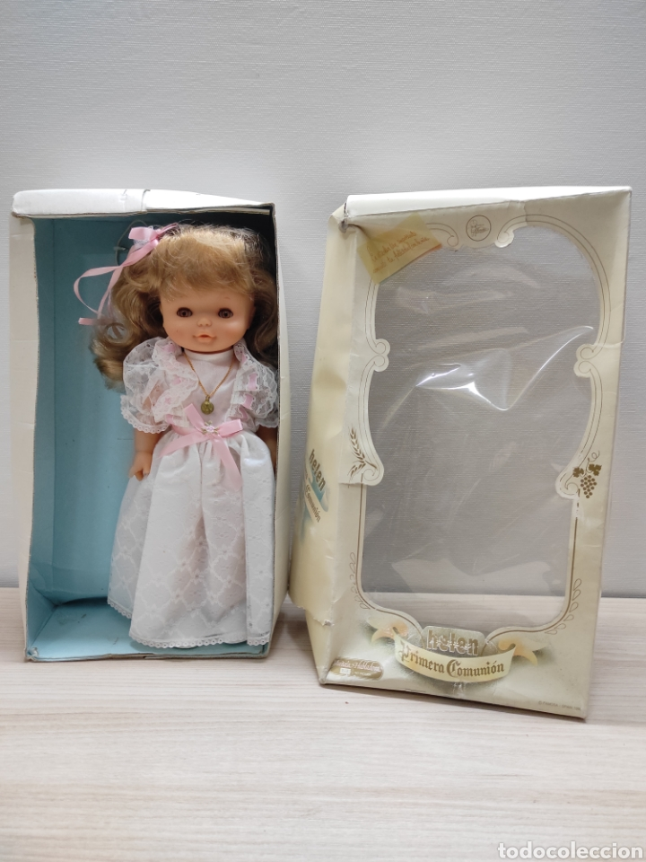 MUÑECA HELEN PRIMERA COMUNIÓN FAMOSA (Juguetes - Muñeca Española Moderna - Otras Muñecas de Famosa)
