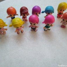 Otras Muñecas de Famosa: LOTE DE 10 MUÑECAS PIN Y PON MODERNOS ( FAMOSA ). Lote 246186890