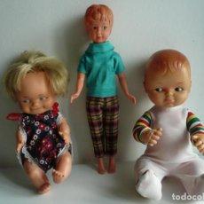 Otras Muñecas de Famosa: MUÑECAS LOTE DE 3. DOS SON DE FAMOSA Y OTRA VINTAGE. Lote 246950940