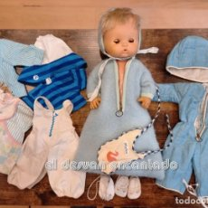 Otras Muñecas de Famosa: NENUCO DE FAMOSA. MUÑECO ANTIGUO Y ROPA ORIGINAL. VER FOTOS. Lote 247206365