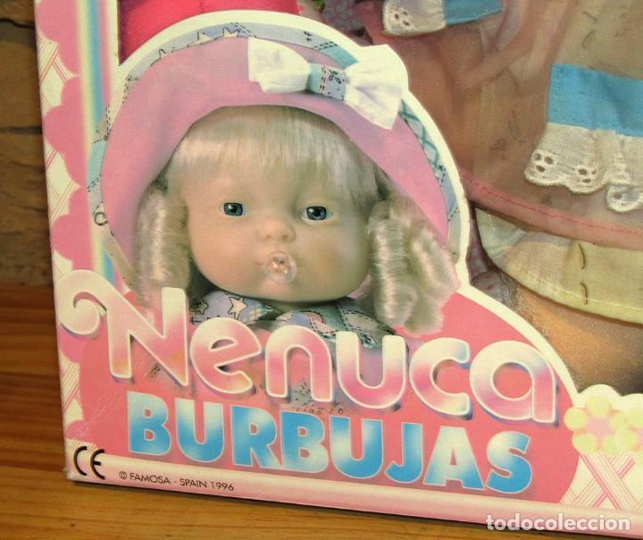 Otras Muñecas de Famosa: ANTIGUA MUÑECA NENUCA BURBUJAS - FAMOSA - NUEVA Y EN SU CAJA ORIGINAL - NUNCA JUGADA - Foto 3 - 247346405