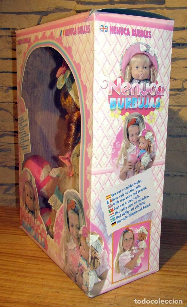 Otras Muñecas de Famosa: ANTIGUA MUÑECA NENUCA BURBUJAS - FAMOSA - NUEVA Y EN SU CAJA ORIGINAL - NUNCA JUGADA - Foto 4 - 247346405