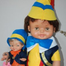 Otras Muñecas de Famosa: MUÑECAS DE FAMOSA PINOCHO Y PEPITO GRILLO. Lote 248592225
