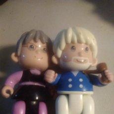 Otras Muñecas de Famosa: PAREJA ABUELOS DE MUÑECO PIN Y PON 1999 DE FAMOSA. PINYPON. Lote 249574295